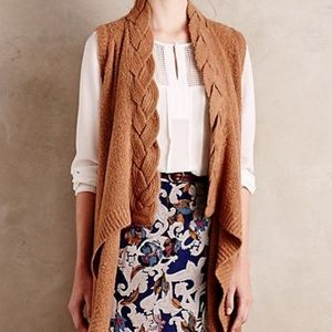 ANTHROPOLOGIE - XS knit vest